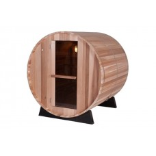 Pool Spas Barrel Sauna - Clear Red Cedar 8ft