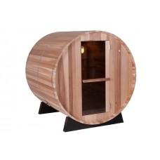 Pool Spas Barrel Sauna - Clear Red Cedar 6ft
