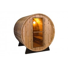 Pool Spas Barrel Sauna - Rustic 8ft