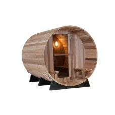 Pool Spas Barrel Sauna - Clear Red Cedar 7 + 1ft