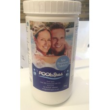 Pool Spas - Bromine Tablets 1kg