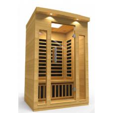 Pool Spas Kalinda 2 Person Infrared Sauna